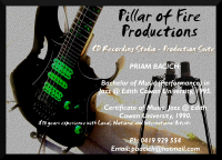 Pillar of Fire - Productions